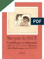 Marquis De Sade - Erzählungen und Schwänke [german]
