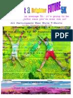 Paint a Brighter Future 5-K Registration
