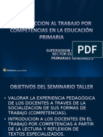 Introduccion Al Trabajo Por Competencias Sector 19