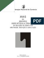Anais Seminario Metodos Alternativos Mediacao Conciliacao