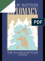 Diplomacy. Watson a. 1982