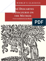 A Discourse on the Method. Descartes