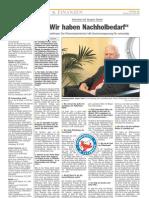 Luxemburger Wort - 12/04/2008 - Interview mit Jacques Santer