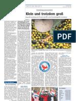 Luxemburger Wort - 15/04/2008 - Klein und trozdem groß