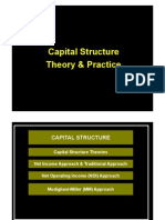 Capital Structure Theroy