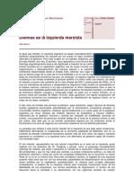BORON 2012 Dilemas de La Izquierda Marxista