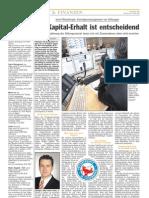 Luxemburger Wort - 21/04/2008 - Der Kapital-Erhalt ist entscheidend