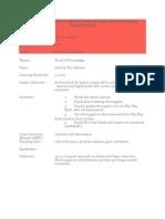 Rancangan Pelajaran Harian Bahasa Inggeris Tahun Du1