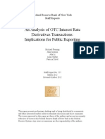 An Analysis of OTC Interest Rate