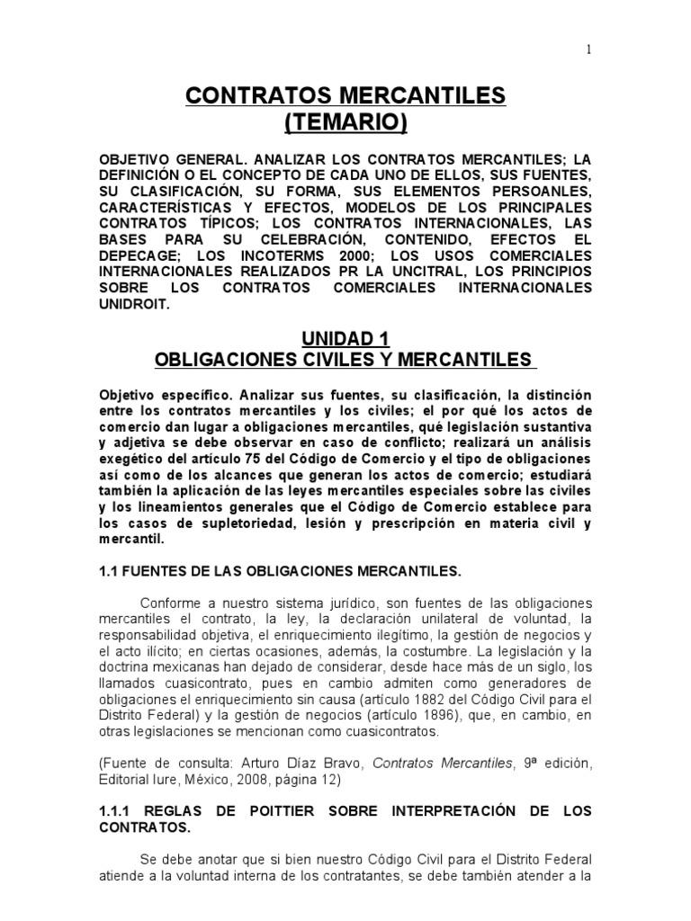 6 Contratos Mercantiles
