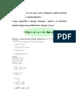 Fungsi Eksponen Dan Logaritma2
