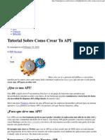 Tutorial Sobre Como Crear Tu API.pdf