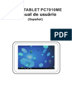 Spanish Manual for Tablet Titan 7010me