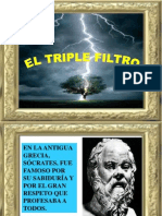El Triple Filtro de Socrates