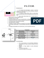 fluor inorganica