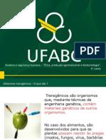 """Bioética e segurança humana – """"Ética, produção agroindustrial e biotecnologia""""."""