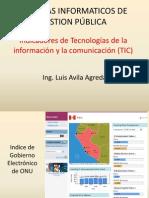 SIGP - Indicadores de TICs