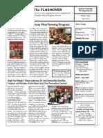 2013-04 JTFD Newsletter - Flashover