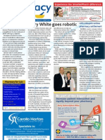 Pharmacy Daily for Tue 02 Apr 2013 - Terry White goes robotic, New diabetes drug, Immunisation guide update and much more