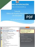 Tutorial Clínica de Pruebas Nacionales en Educando