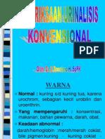 Pemeriksaan urin konvensional.ppt