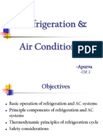 Refridgeration and AC Systems