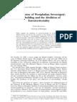 Turan Kayaoglu, The Extension of Westphalian Sovereignty