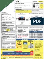 Bugatti Veyron 16.4 Spec Sheet