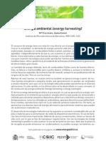 Energía ambiental (energy harvesting)