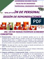 Gestion de Personal Sesion Remuneraciones