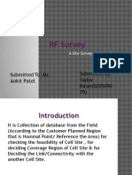 RF Survey Ppt