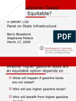 Higher Gasoline Taxes:Elitist or Equitable?