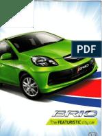 Brosur Honda Brio 2013