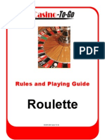 Roulette Rules and Guide