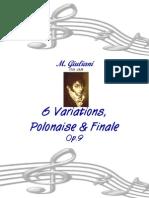 6 Variaciones Giuliani Polonise y Finale