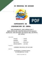 Liquidacion San Antonio de Padua