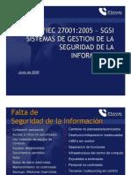 Brochure 27001 Implementation