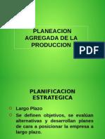 PLANEACION AGREGADA