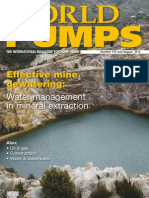 Neptuno Pumps® World Pumps Magazine - August 2012 - Water Management for Copper Mining