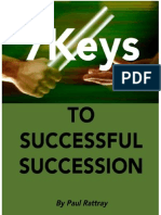 7Keys to Successful Succession