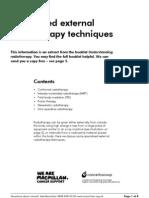 Radiotherapy Specialisedexternalradiotherapytechniques(CB)