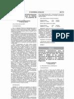 Decreto Supremo 004-2013-SA