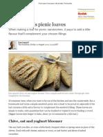 Picnic Loaves _ Dan Lepard