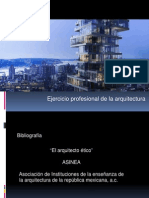 Etica Del Arquitecto