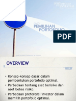 Portofolio & Investasi Bab 5 - Pemilhan Portofolio