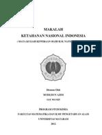 Tugas Kwn (Ketahanan Nasional Indonesia)