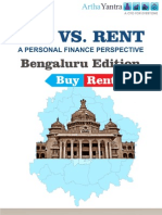 ArthaYantra Buy vs. Rent Score (ABRS)-Bangalore
