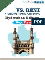 ArthaYantra Buy vs. Rent Score (ABRS)-Hyderabad