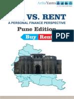 ArthaYantra Buy vs. Rent Score (ABRS)-Pune