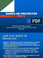 Banco de Proyectos - Snip